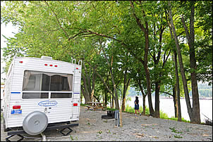 riverfront campsites